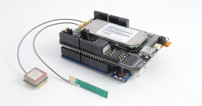 3G/GPRS Shield for Arduino / Raspberry Pi (3G + GPS) + Audio/Video Kit